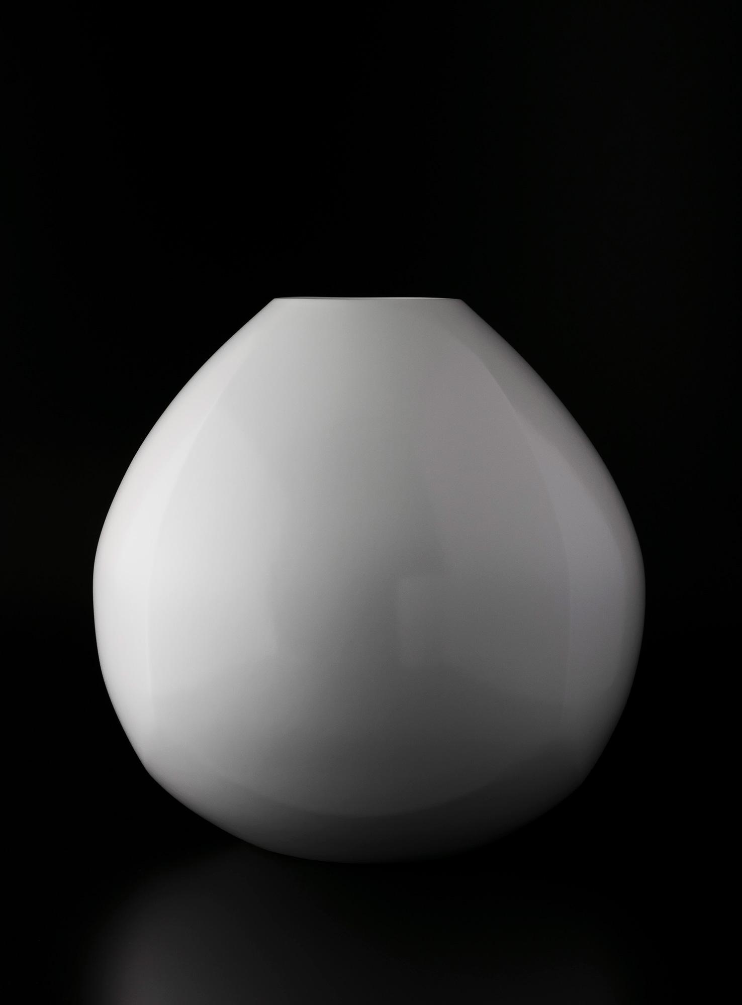 白瓷面取壺(2019)